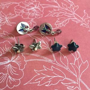 🌸3for$15 Butterfly and Star Earring Bundle
